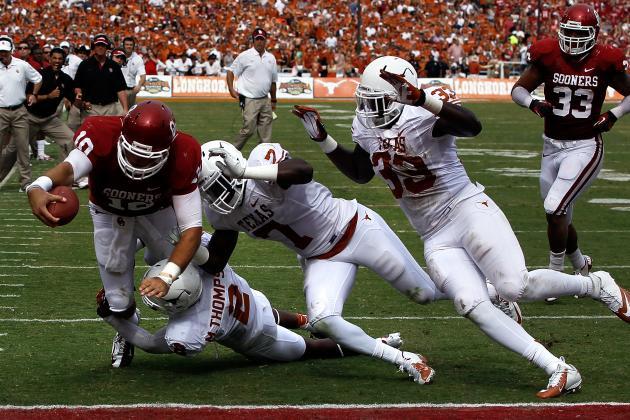 Texas Loses Linebacker Cobbs in Loss to TCU