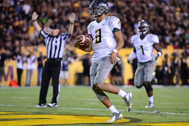 Oregon vs. Oregon State: Marcus Mariota Will Lead Ailing Ducks to Victory