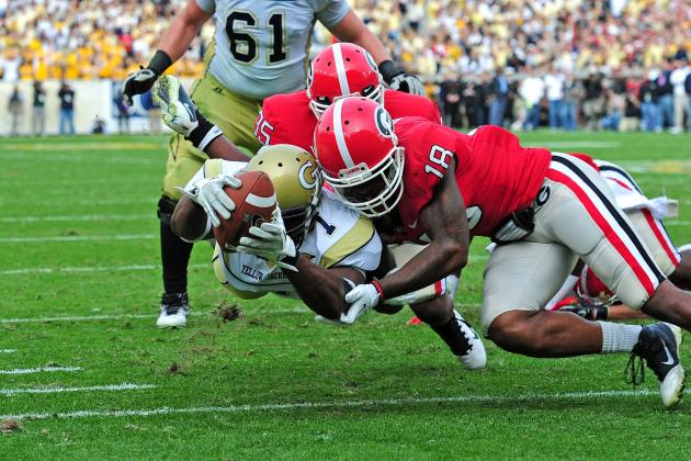 Georgia Tech vs. Georgia: Clean, Old-Fashioned Hate Rivalry Has Lost Its Luster