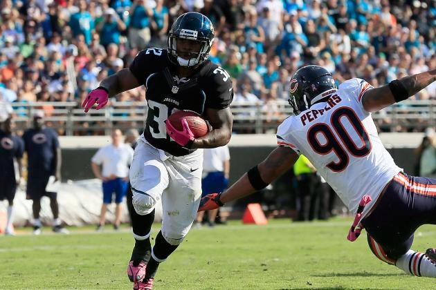 Maurice Jones-Drew Expects to Miss a Few More Games