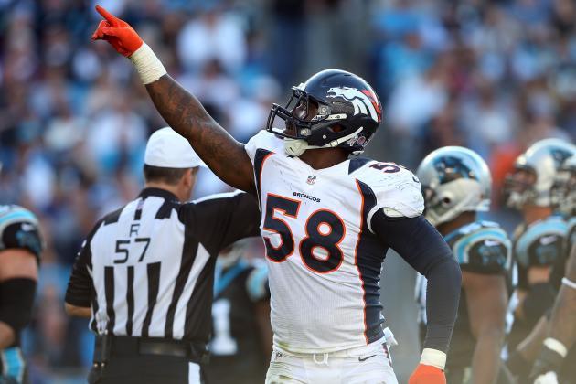 Denver Broncos Linebacker Von Miller a Rare Power Generator
