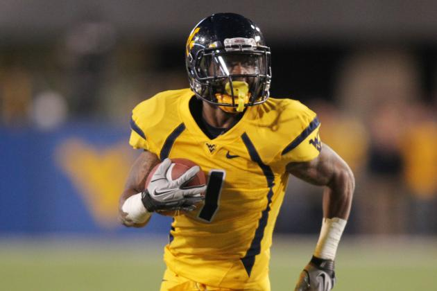WVU's Austin Goes Old School for Outburst