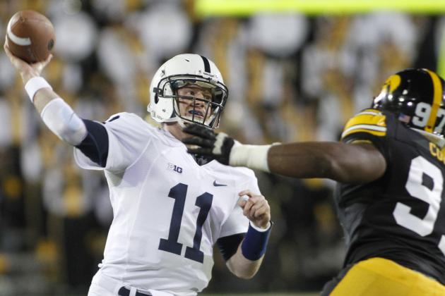 Competitiveness Key to Penn State QB McGloin's Growth