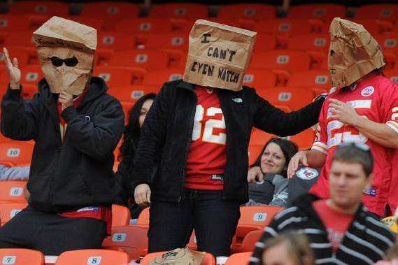 Chiefs' Uninspiring Play Turning Away Fans