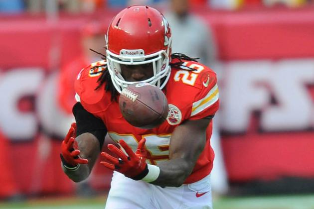 Time and Injury Don't Stop Charles from Helping Chiefs, Breaking Records