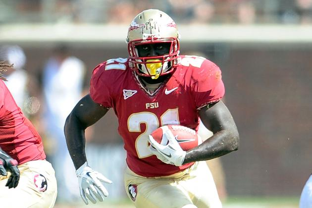 Florida State Seminoles Running Back Debrale Smiley Out