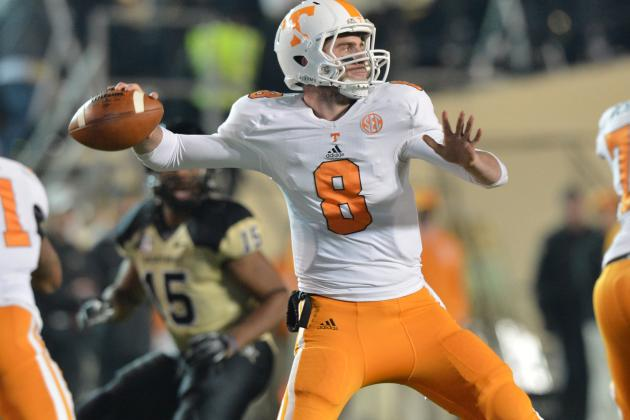 Tyler Bray Isn't Ready for NFL