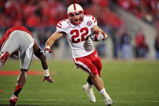 Rex Burkhead Starts 2nd Half vs. Iowa