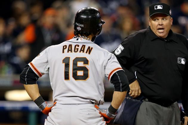 The Giants Aren't Necessarily Committed to Angel Pagan