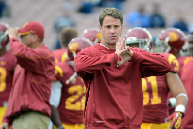 Notre Dame vs. USC: Win over Fighting Irish Would Help Lane Kiffin Keep His Job