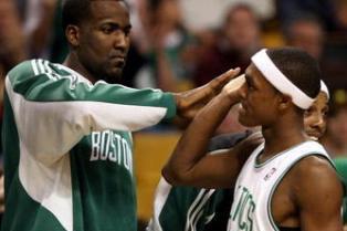 Kendrick Perkins Wants to Guard Rajon Rondo When Thunder Face the Celtics