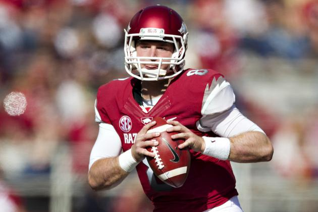 Tyler Wilson Breaks Arkansas' Career Passing Yards Record