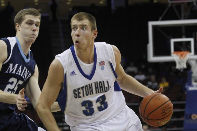 Seton Hall's Patrik Auda Breaks Foot, out for Season