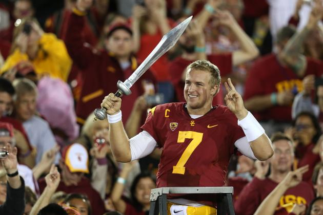 Assessing the Draft Value of USC Quarterback Matt Barkley