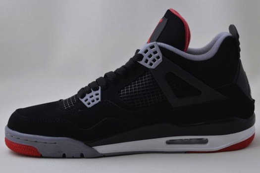 Breaking Down New Air Jordan IV 'Bred' Shoes