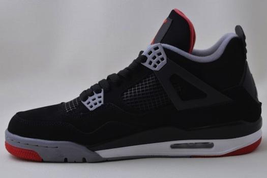 Breaking Down New Air Jordan IV 'Bred' Shoes