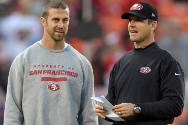 49ers QB Alex Smith Listed as Questionable vs. New Orleans Saints