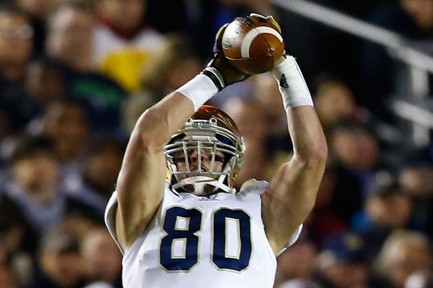 Notre Dame Football: Eifert Goes from Decoy to Dominant