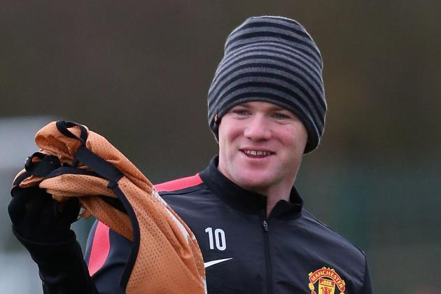 Rooney Happy to Play Deeper Role for Manchester United