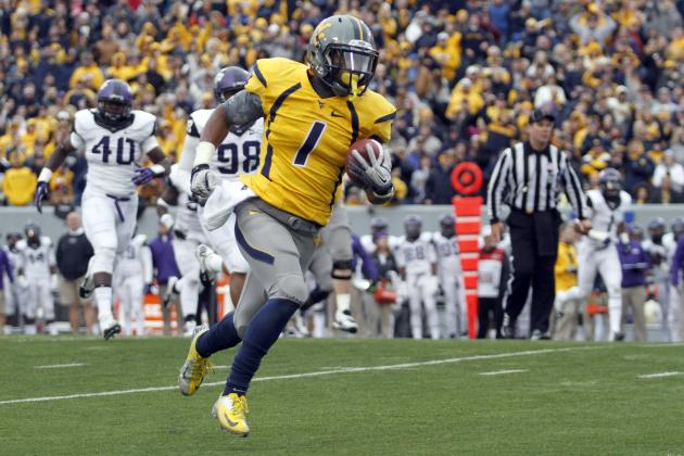 West Virginia vs. Iowa State: Tavon Austin Solidifies First-Round Draft Status