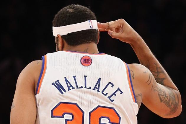 Knicks' Wallace out vs. Rockets with Sore Foot