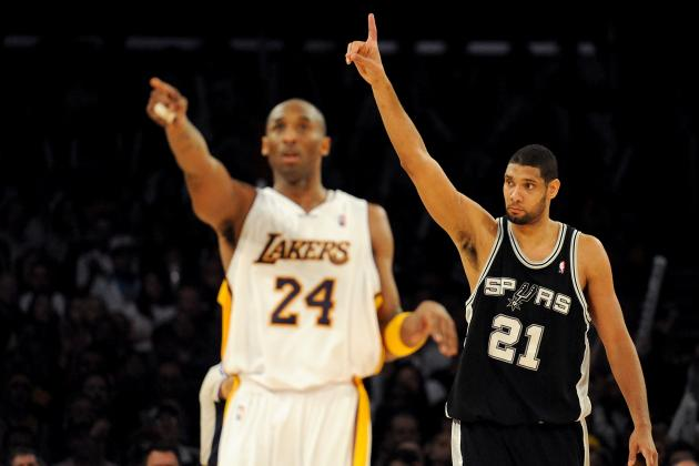 Why San Antonio Spurs' Dynasty Trumps Kobe Bryant's L.A. Lakers