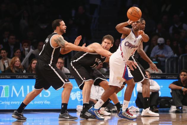 Clippers vs. Nets: Loss Proves LA Is Still Far from Title Contender