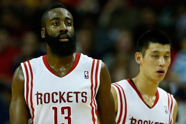 Jeremy Lin, James Harden and Houston Rockets Streamroll New York Knicks