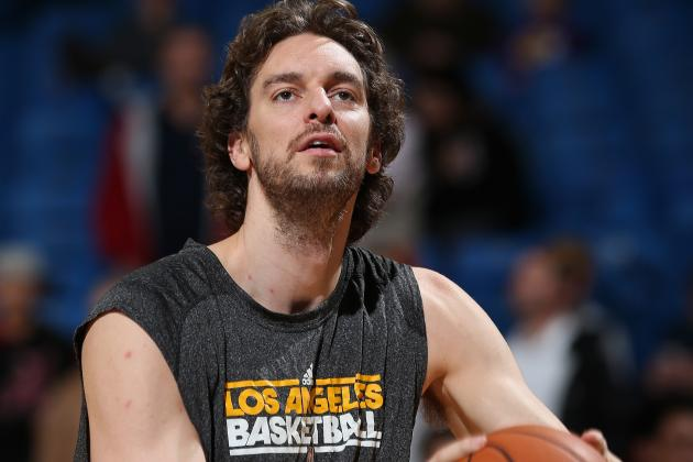 Gasol Benched by D'Antoni in Final Minutes of Lakers-Grizzlies Game