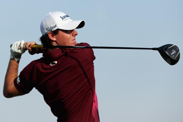 McIlroy, Donald Share Three-Shot Lead in Dubai