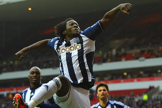 West Bromwich Albion's Marc-Antoine Fortuné Snuffs out Sunderland
