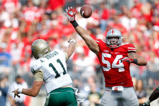 Michigan vs. Ohio State: John Simon Would Be Insurmountable Loss for Buckeyes