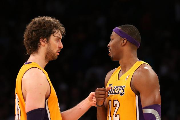 Can Pau Gasol's Request for More Touches in the Paint Work with Dwight Howard?