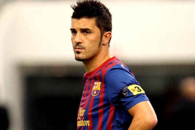 Ankle Knock Rules out David Villa