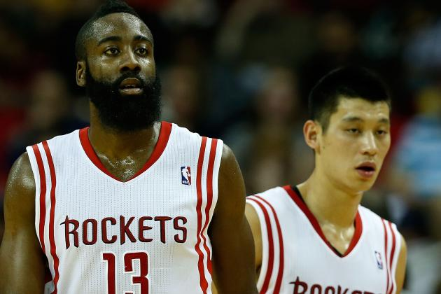 Linsanity, Harden Pacing the Overachieving Rockets for Big Things This Season