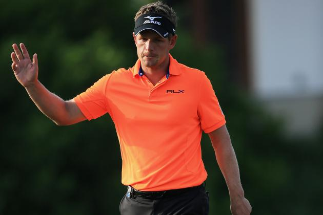Luke Donald Has Gone 100 Holes in Dubai Without a Bogey