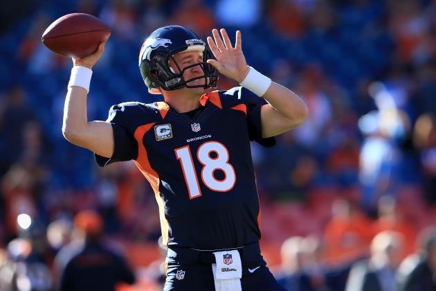 Peyton Manning: What Fantasy Owners Should Expect from Broncos QB vs. Chiefs