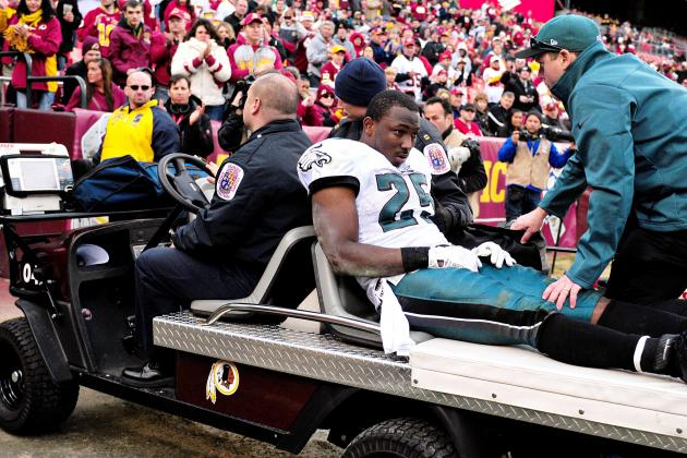 LeSean McCoy Ruled Out vs. Carolina Panthers with Concussion