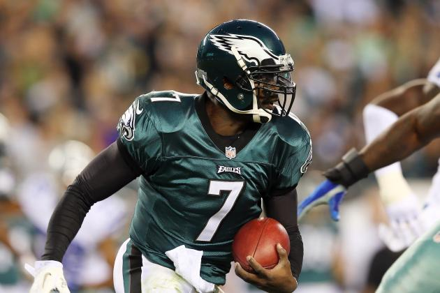 Michael Vick Ruled Out vs. Panthers with Concussion