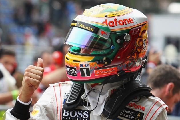 Brazil GP Qualifying: Hamilton on Pole, Sebastian Vettel Fourth, Alonso Eighth