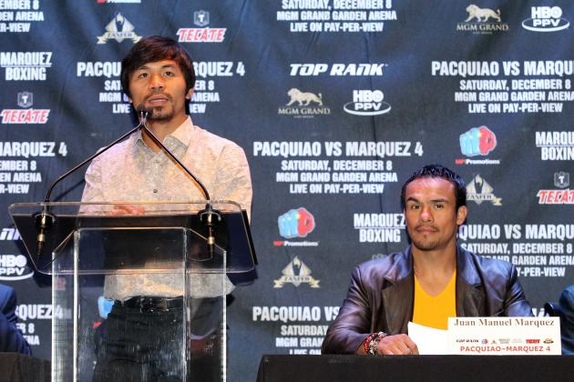 Manny Pacquiao Will Never Dominate Juan Manuel Marquez