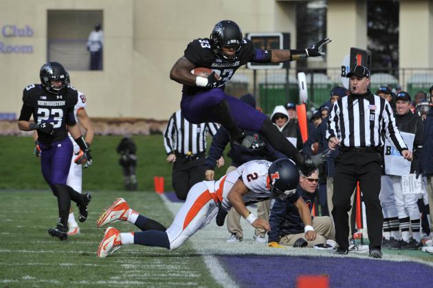 NU-Illinois Game Day: Northwestern Beats Illini 50-14