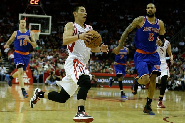Jeremy Lin: Rockets PG Must Focus on Efficiency to Be Completely Sucessful