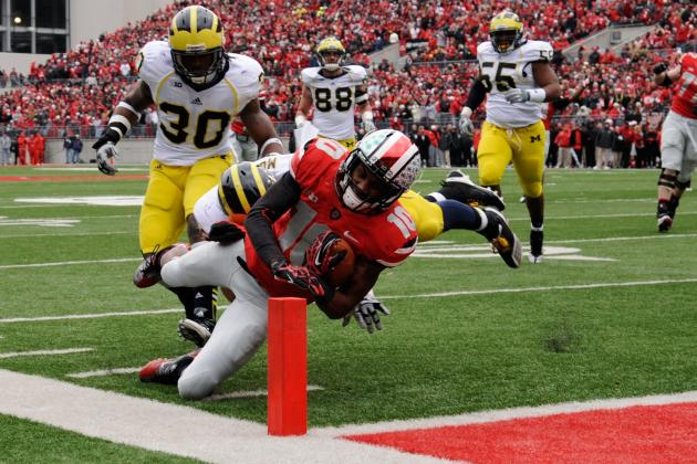 No. 4 Ohio St. 26, No. 20 Michigan 21