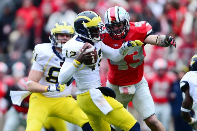 Michigan vs. Ohio State: Turnovers Doom Wolverines' Attempt to Ruin 12-0 Season