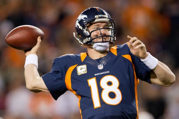 Peyton Manning: Huge Numbers Await Fantasy Squads Starting Broncos QB
