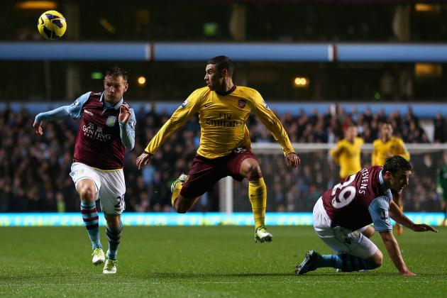 English Premier League: Inconsistent Arsenal Held by Aston Villa
