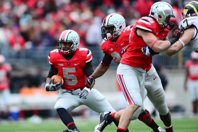 Braxton Miller Proves Superiority to Denard Robinson in Rivalry Win