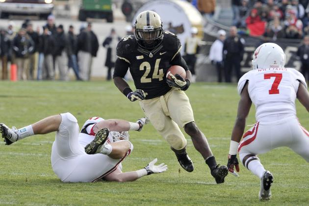 Shavers Key Late as Purdue Finishes off Indiana