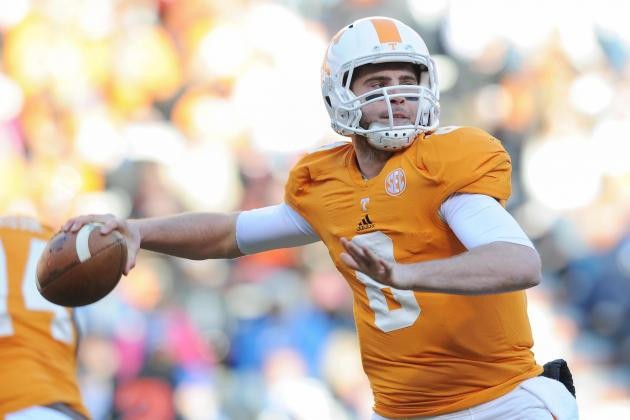 Bray Tosses 4 TDs, Leads Tenn. Past Kentucky